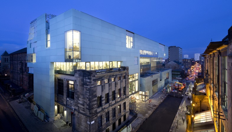 Steven Holl's Glasgow School and its vertical tunnels of light