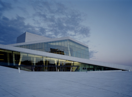 Italian marble for Snøhetta's Norwegian Opera and Ballet