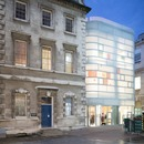 Steven Holl's Maggie's Centre Barts is made of concrete, glass and bamboo