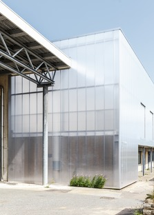 Effekt Architects renovate an industrial building to adapt it for street sports