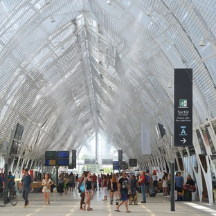 AREP expansion of Montpellier railway station using ETFE