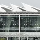 High-speed railway station with hollow pillars in Changhua by Kris Yao | ARTECH