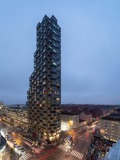 OMA's concrete tower in Stockholm
