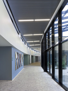 L'Hospice Djursland di C.F. Møller, rivestito in rovere