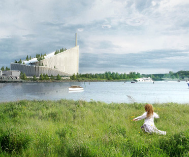 Green philosophy for the Amager Resource Centre, BIG's waste-to-energy plant