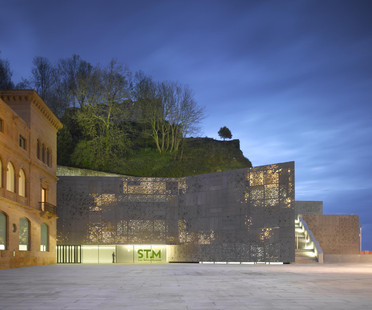 The cast aluminium façade for the Nieto and Sobejano Museum in San Sebastian