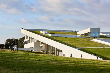 The concrete Moesgaard Museum by Hennign&Larsen