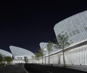 PES ARK's Fuzhou Strait Culture and Arts Centre made of high-tech ceramic