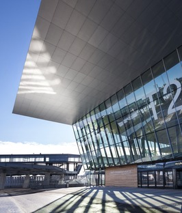 PES architects concrete and steel West Terminal in Helsinki