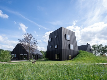 Mecanoo builds a Dutch farmstead out of timber and aluminium