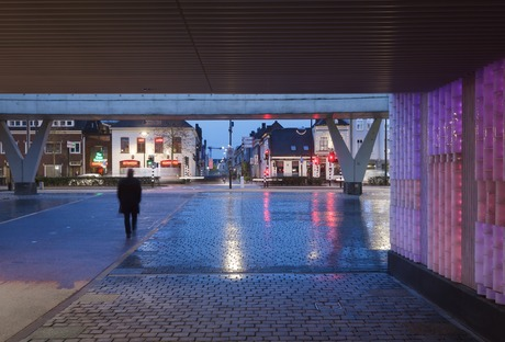 Led lighting and glass for Willem II Passage in Tilburg