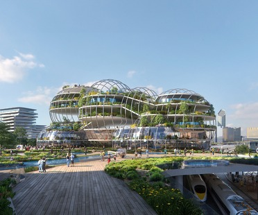 UNStudio's geothermal cathedral for the Socio-Technical City of the future