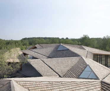 TAO's Forest Building of glulam, rammed earth and concrete