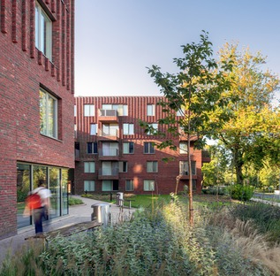 Mecanoo's brick homes in Manchester