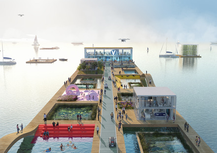 MVRDV's vertiports for the city of the future