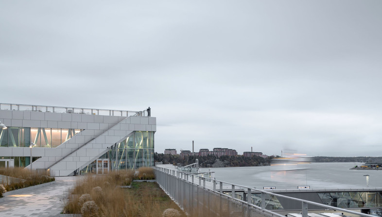 C.F. Møller Architects's steel and glass Värtaterminalen