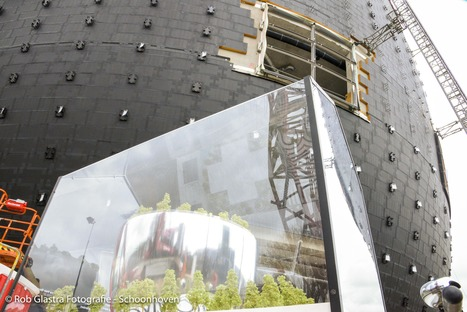 MVRDV's Depot of concrete with a mirror façade