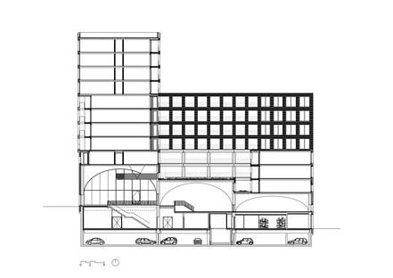 Studioninedots' brick and concrete Westbeat