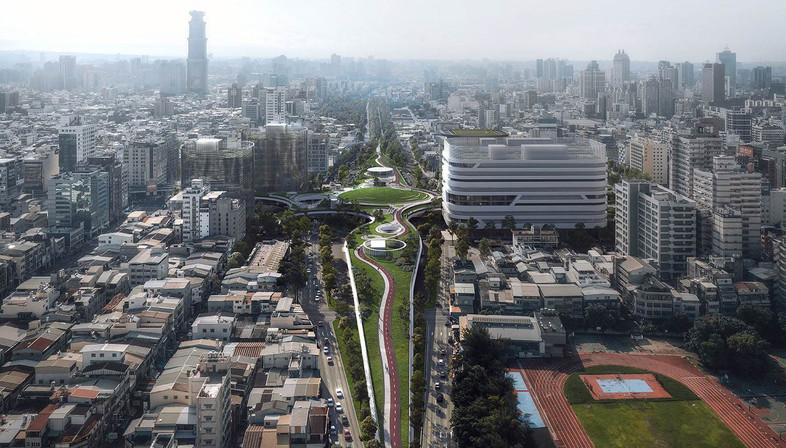 Mecanoo's Kaohsiung station is being completed