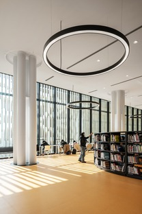 Mecanoo's steel structure for Tainan library