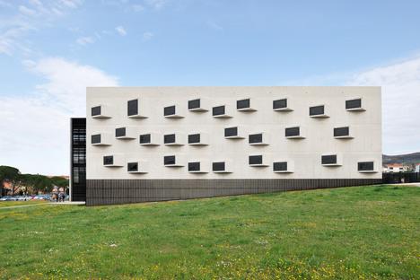 Dekleva Gregoric architects' university campus of glass, steel and concrete