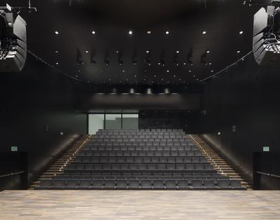 Barozzi Veiga's glass and aluminium philharmonic hall