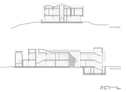 Two layers of microperforated aluminium for the façade of LDA.iMDA's Casa Verde