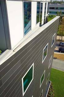 Ventilated façades or walls and cladding