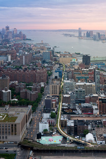 Aerial View ©Iwan Baan/Courtesy of the High Line