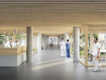 © Herzog&De Meuron | New North Zealand Hospital, Denmark