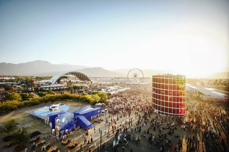 Facilitating access to temporary events, Coachella Festival