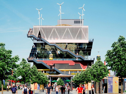 Expo 2000, Hannover, Netherlands Pavilion  © Courtesy of MVRDV