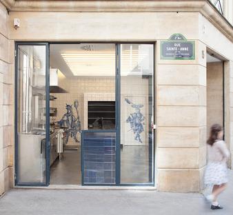 Grillé Restaruant, Paris, France. CBA.
