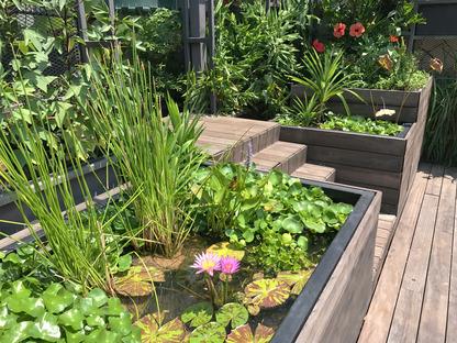 Urban Rooftop Farm, WOHA, Foto Cortesia di WOHA