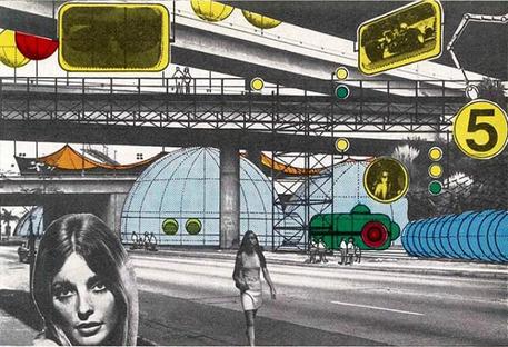 Archigram's Collages, Architectural Design. 1969