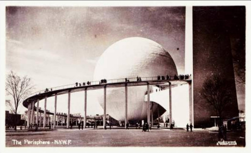 Perisphere Sphere at the International World Exhibition of 1939