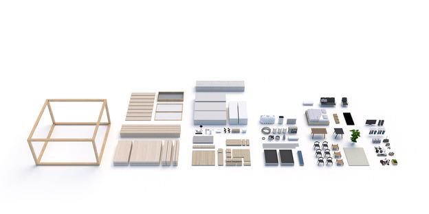 EFFEKT, 'Urban Village Project' per SPACE10. Render, Courtesy of EFFEKT